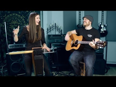 Short Song Jam (Guitar & Theremin) - Carolina Eyck & Rob Scallon