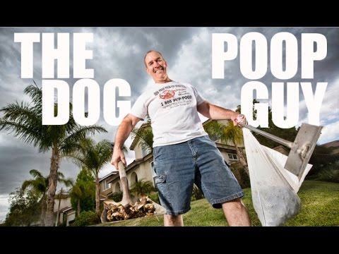 Cleaning up Dog Poop the easy way - The Dog Poop Guy