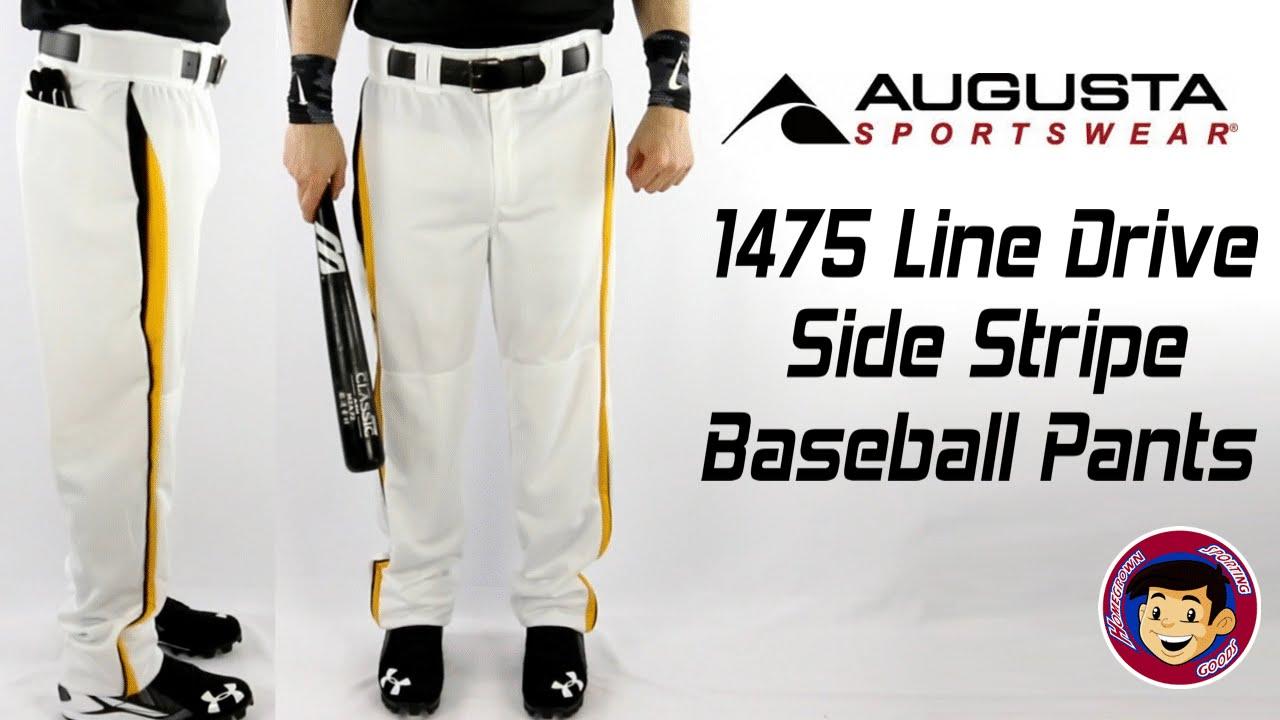 Augusta 1475 Striped Baseball Pants - Homegrown Sporting Goods - YouTube 79ce39103cb0