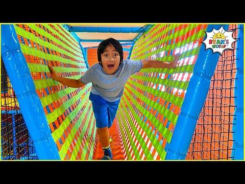 Ryan's 9th Happy Birthday at Indoor Playground and Pirate Treasure Hunt!!