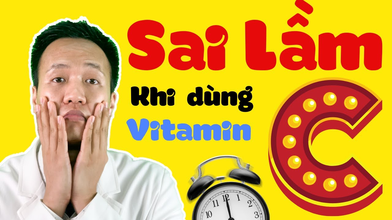 CÁCH LÀM ĐẸP DA TẠI NHÀ – 5 SAI LẦM trong sử dụng VITAMIN C | Dr Hiếu
