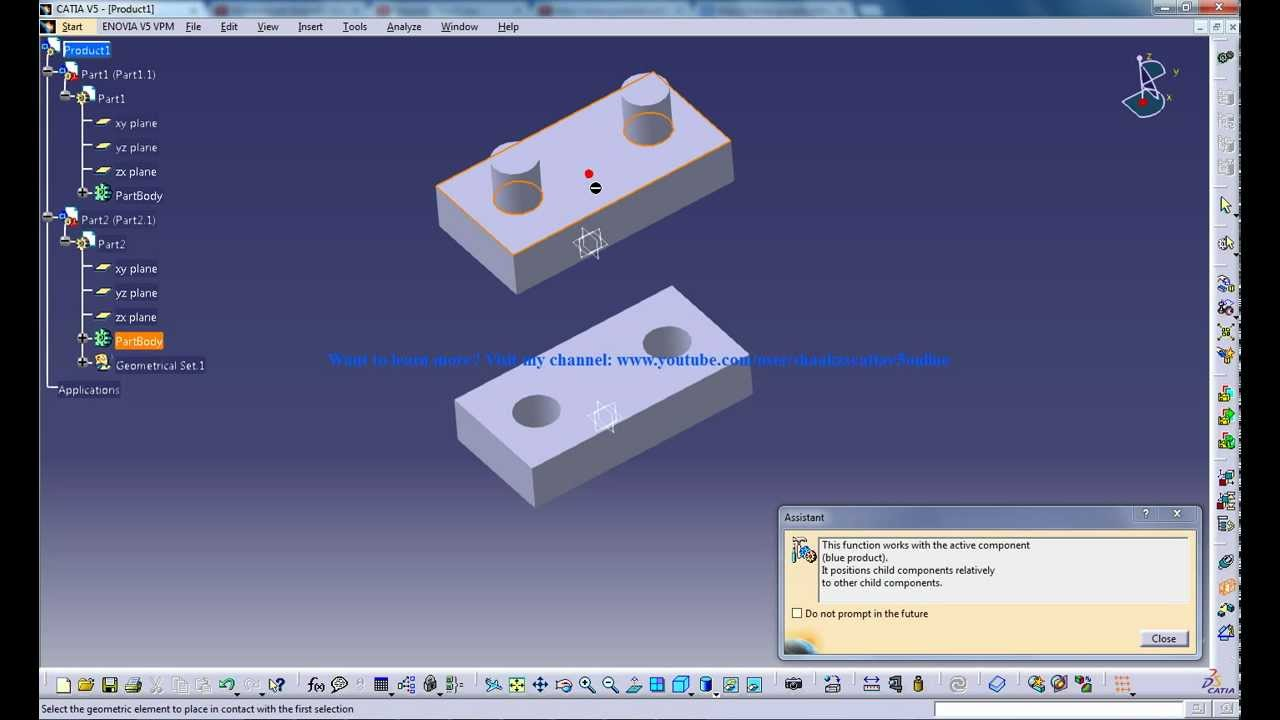 CATIA Tutor - Your Best way to Learn CATIA V5