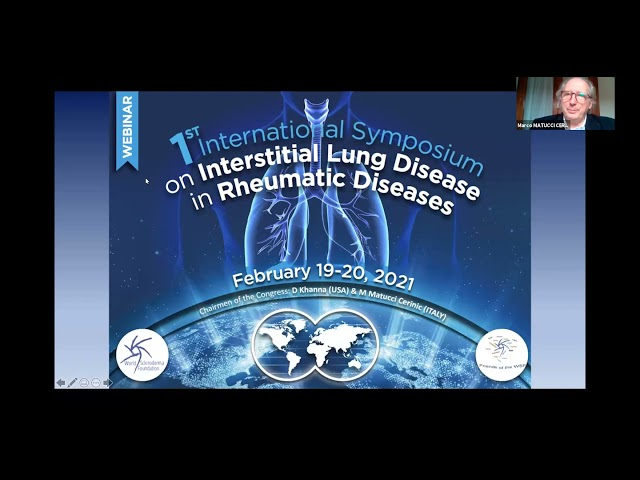 WSF 1st webinar on ILD in SSc