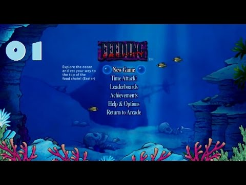 Feeding Frenzy Xbox 360 Playthrough 01