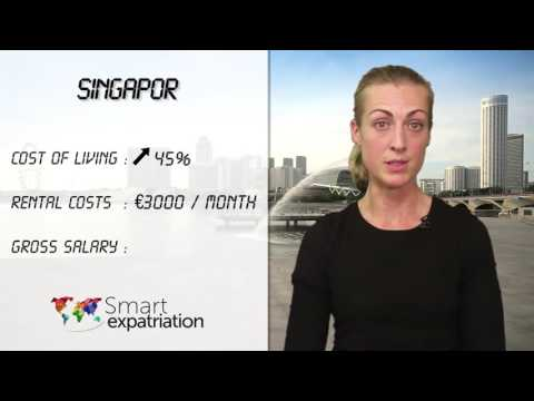 Singapore - Cost of Living, Rental Costs & Gross Salary