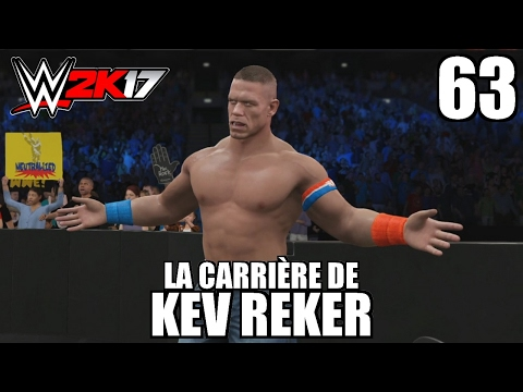 WWE 2K17 - La Carrière de Kev Reker -...