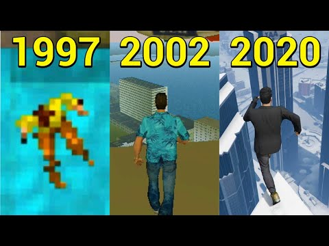 Evolution Of Jumping From The Highest Building In GTA 1997-2020