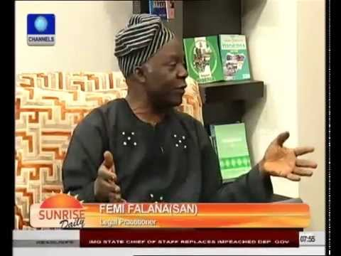 "Nigeria's Criminal Justice System Is ""Messed Up""- Femi Falana"