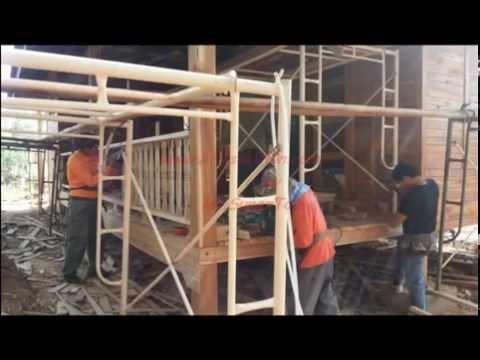 บ้านไม้สัก ก่อสร้างรีสอร์ทไม้สัก @น่าน ซีซันส์ บูติก รีสอร์ท by www.kritsolution.com