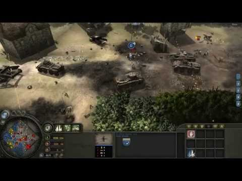 4 Players vs 4 AI (Company of Heroes)