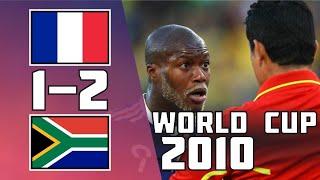 ЮАР Франция 2 1 Обзор Матча Чемпионата Мира 22 06 2010 HD
