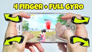iPhone 8 Plus PUBG  | HANDCAM | 4 Finger + Full Gyro!! |  #13