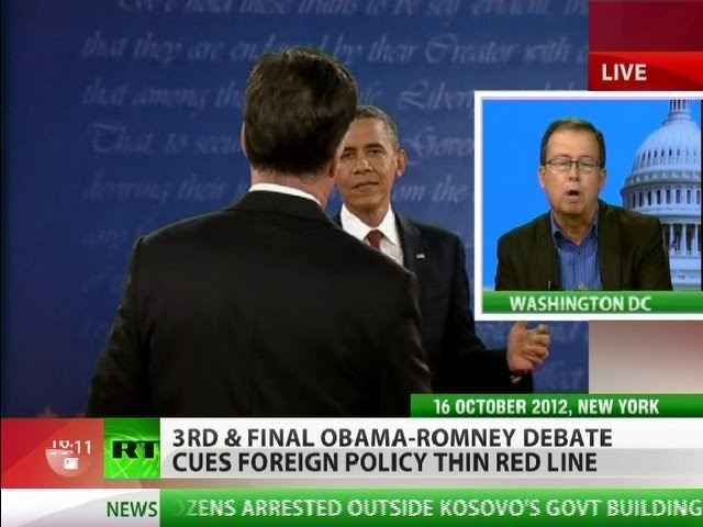 'Americans sick of war, Obama & Romney should realize that'