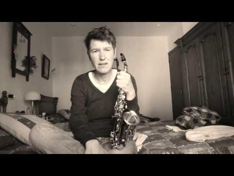 Saxophone Workout - die Halbton-Ganzton Tonleiter üben