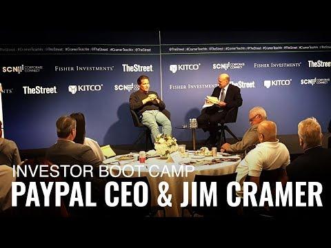 PayPal CEO & Jim Cramer Talk China, Diversity, Alexa and More!