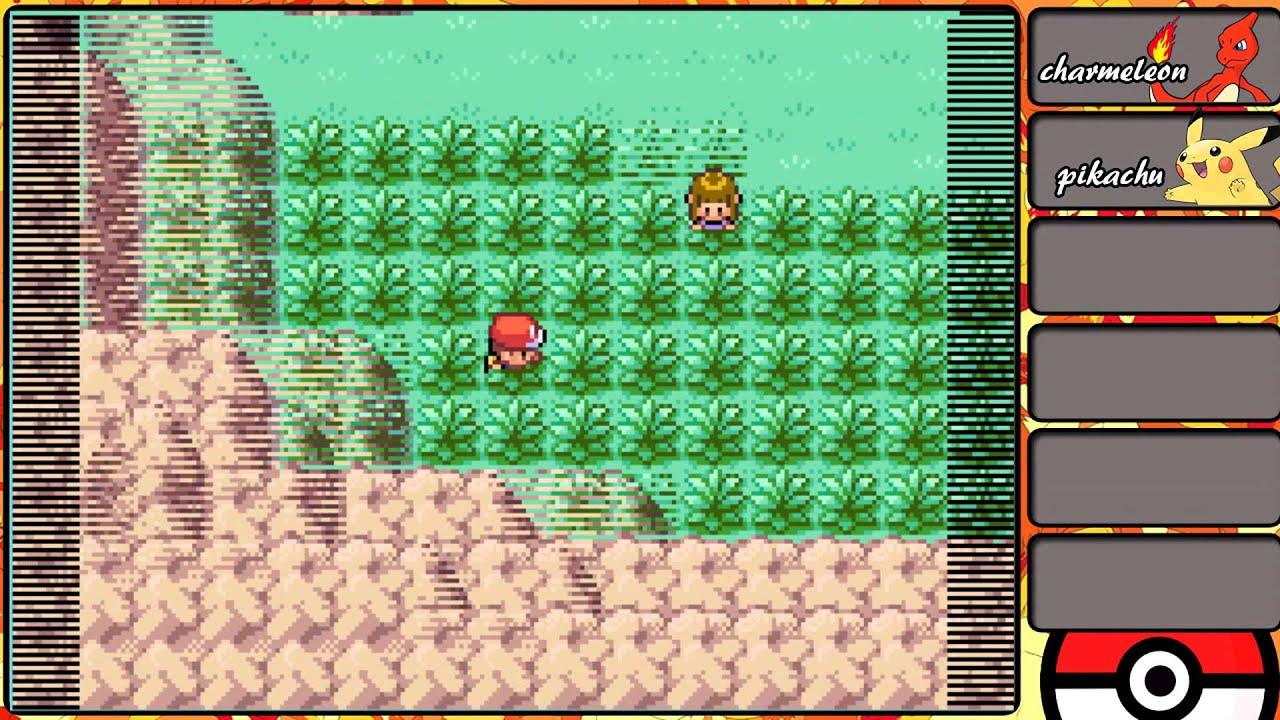pokemon fire red walkthrough 4 * catching nidoran*  YouTube