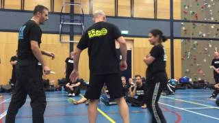 Third Party Protection IV with Amnon Darsa at Institute Krav Maga Netherlands.