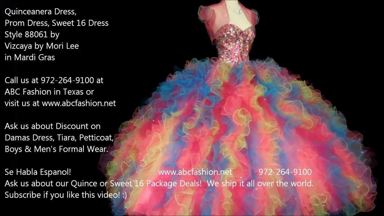 88061 Carnival Vizcaya by Mori Lee Quinceanera Dress, Prom Dress by ...