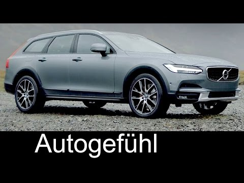New Volvo V90 Cross Country Preview Exterior/Interior/Technology/Crash test 2017 neu