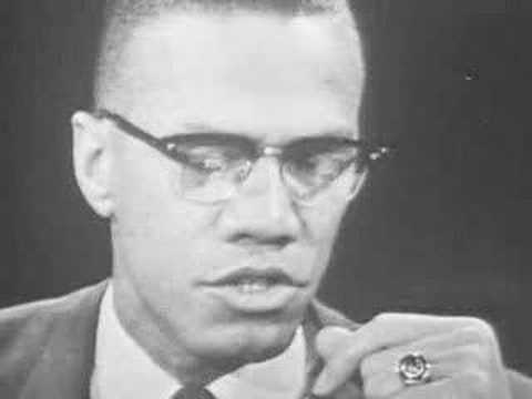 Malcolm X- Dr. King is an Uncle Tom