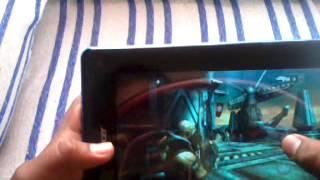 prueba de juegos en tablet acer iconia b1