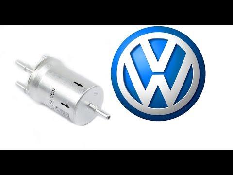 VW Jetta 6 - Замена топливного фильтра