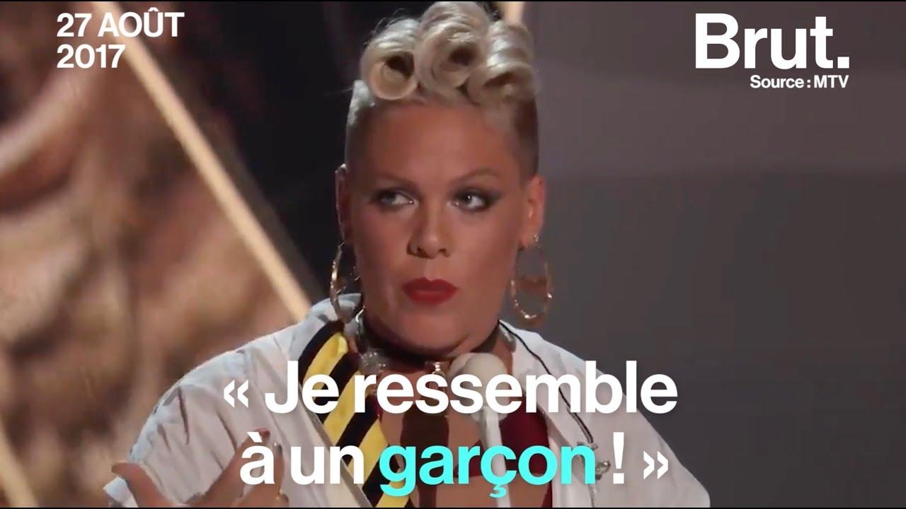 Le discours inspirant de Pink à sa fille aux VMA 2017