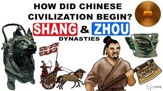 Bronze Age China. Shang and Zhou dynasties history explained