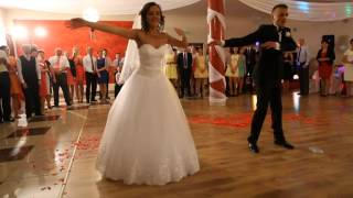 nasz  taniec weselny niespodzianka / our surprise wedding dance Kamila i Konrad 07.09.2013