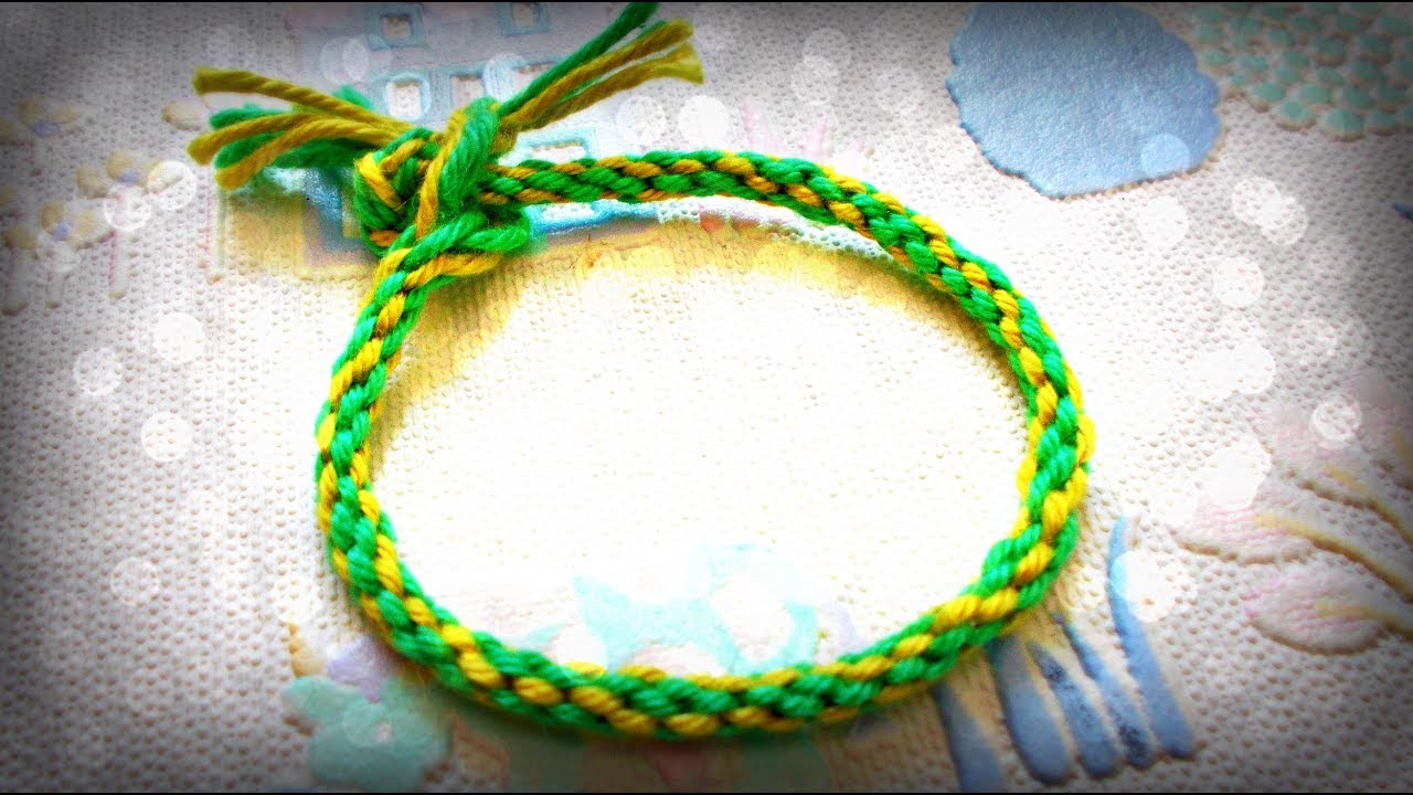 Diy Crafts: How To Make A Friendship Bracelet With A Cardboard Loom  Diy  Kumihimo Bracelets