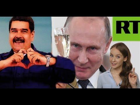 Encuentro Maduro/Putin. Cámaras de TV SUR y RT