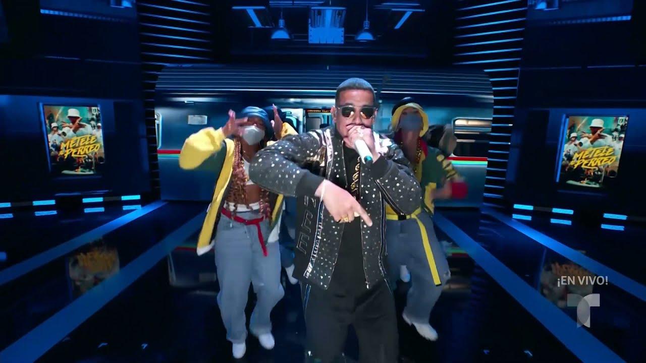 Daddy Yankee - Métele al Perreo  En Vivo Latin Billboards 2021