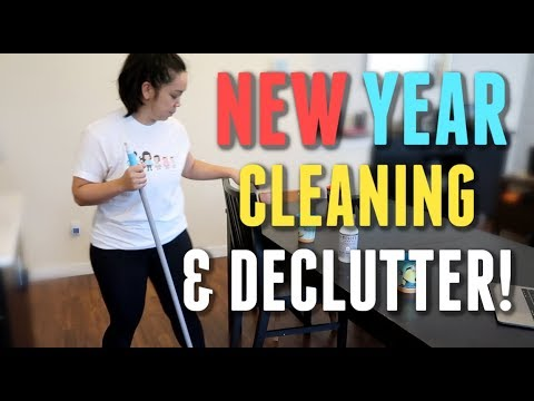 ALL DAY Cleaning and Decluttering! -  ItsJudysLife Vlogs thumbnail