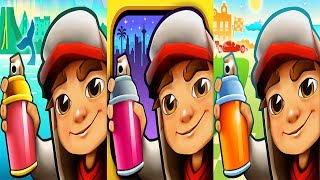Subway Surfers MONACO vs LAS VEGAS vs ICELAND - Android Gameplay For Children HD
