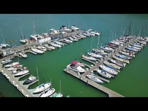 San Francisco (Treasure Island), CA drone footage