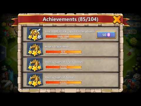 Castle Clash - I Have Finally  Lost 1000 Raids To Get The Achievement! 101915