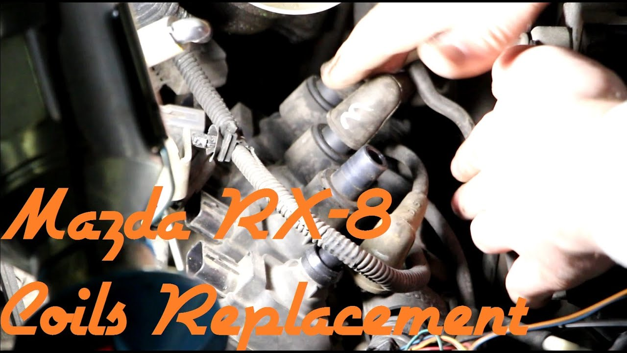 how to replace rx8 ignition coils and spark plugs [ 1280 x 720 Pixel ]
