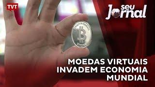 Moedas virtuais invadem economia mundial