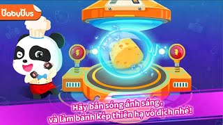 Babybus games | robot cooker game | cook for baby