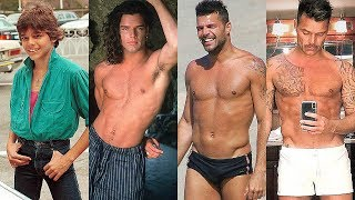 Ricky Martin transformation 2019 -  From 1 to 47 years old