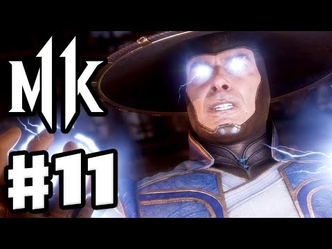 Mortal Kombat 11 - Gameplay Walkthrough Part 11 - Chapter 11: Cutting the Strings - Raiden!