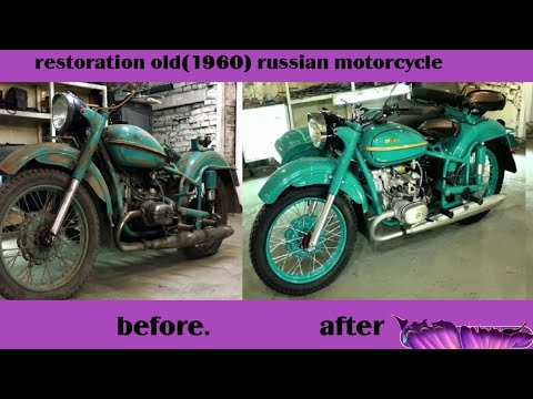 Full Restoration old russian vehicle (1960)!!!
