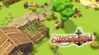 STRANDED SAILS | Ep 1 | New Survival Builder Management Stranded on Deserted Island Gameplay