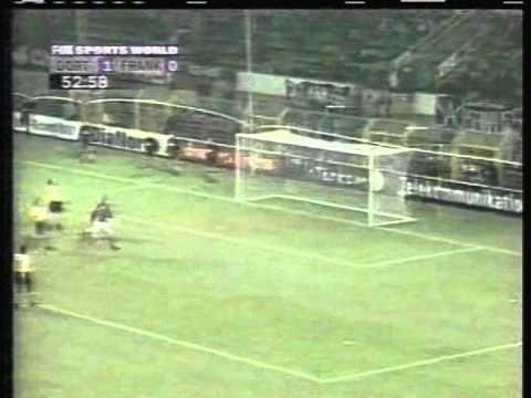 1998 (November 27) Borussia Dortmund 3 -Eintracht Frankfurt 1 (German Bundesliga)