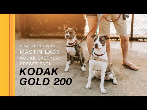 How to Edit with Mastin Labs - Kodak Everyday Original Presets | Kodak Gold  200 by Ragi & Amanda