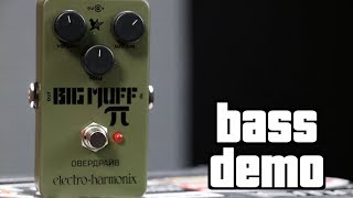 Electro-Harmonix Green Russian Big Muff Bass Demo