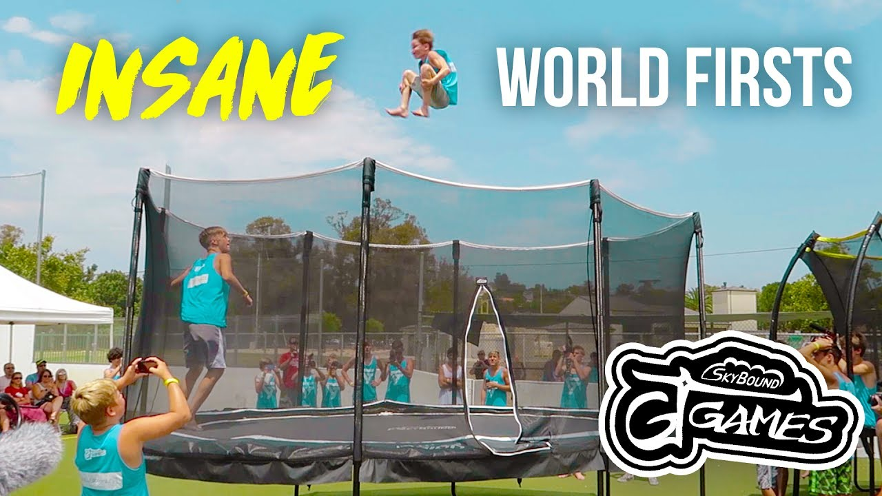 INSANE GARDEN TRAMPOLINE COMPETITION | GT GAMES