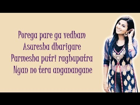 Be Free Original Pallivaalu Bhadravattakam Vidya Vox Mashup Ft Vandana Iyer Lyrics Youtube
