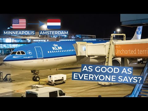 TRIPREPORT | KLM Royal Dutch Airlines (ECONOMY) | Airbus A330-300 | Minneapolis - Amsterdam