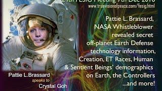 24th FESIG Meeting - Pattie Brassard, NASA scientist whistleblew secret Earth Defense info!